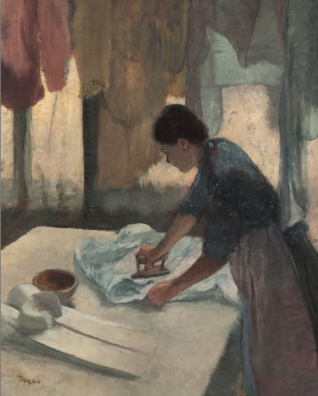 Woman Ironing by Edgar Degas_How to paint like Degas
