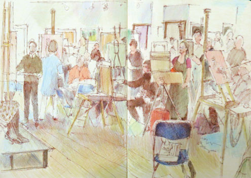 Drawing basics with Katherine Tyrrell