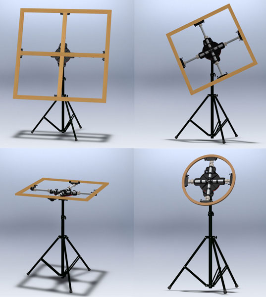 The ARTristic Easel for artists