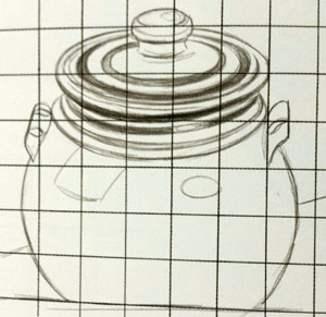 how to use the grid method for drawing