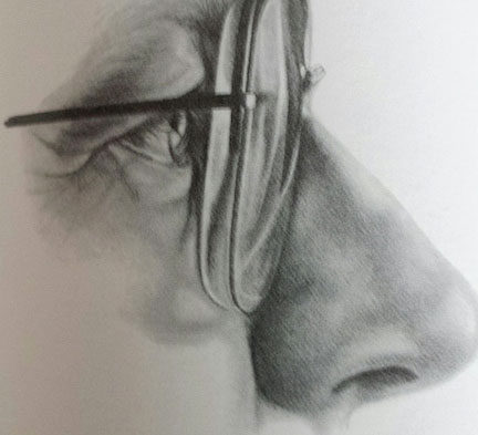 One challenge of drawing faces eyeglasses artists network how to draw eyes with glasses ccuart Gallery