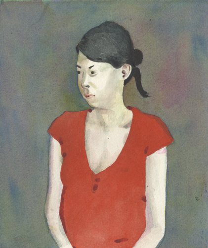 Ilaria Mum (watercolor on paper) by Charles Williams