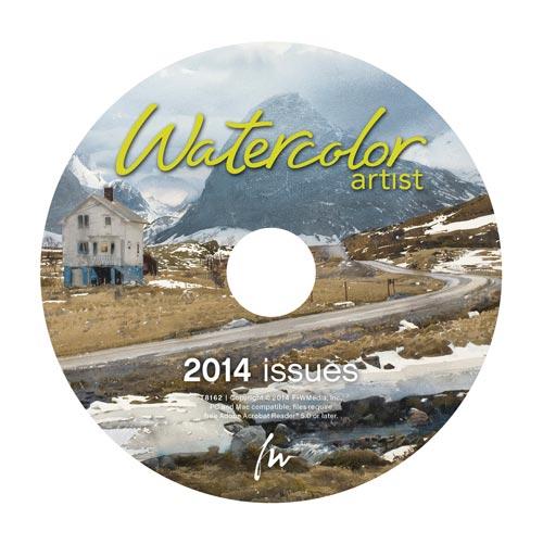 watercolor artist 2014 CD | watercolor techniques