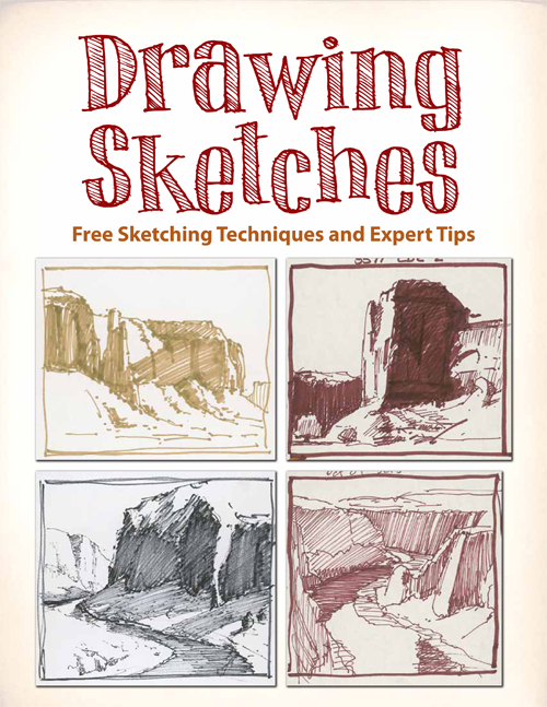 Learn expert techniques on drawing sketches to improve your sketching.