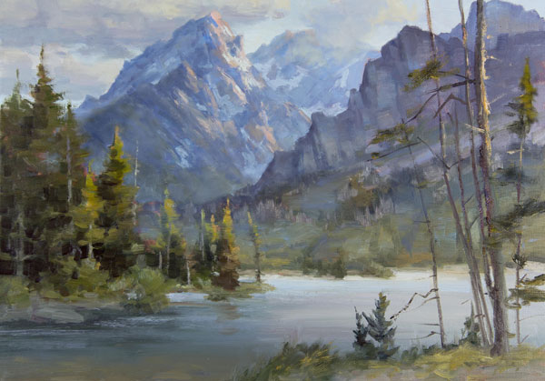 Why Landscape Painters Should Think Like a Still Life Artist | ArtistsNetwork.com