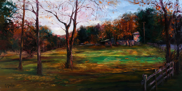Impressionist oil painting by George Gallo