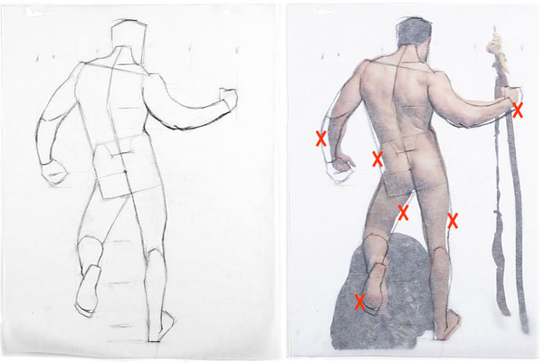 3 Mistakes You Make When Drawing The Figure