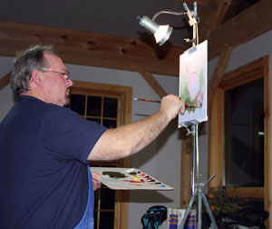 Wilson Bickford, artist and oil painting teacher