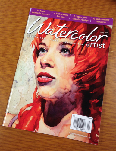 Watercolor Artist April 2015 issue | watercolor painting