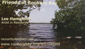 Artist in Residence at Rookery Bay