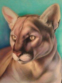 Friends of the Florida Panther, art by Lee Hammond