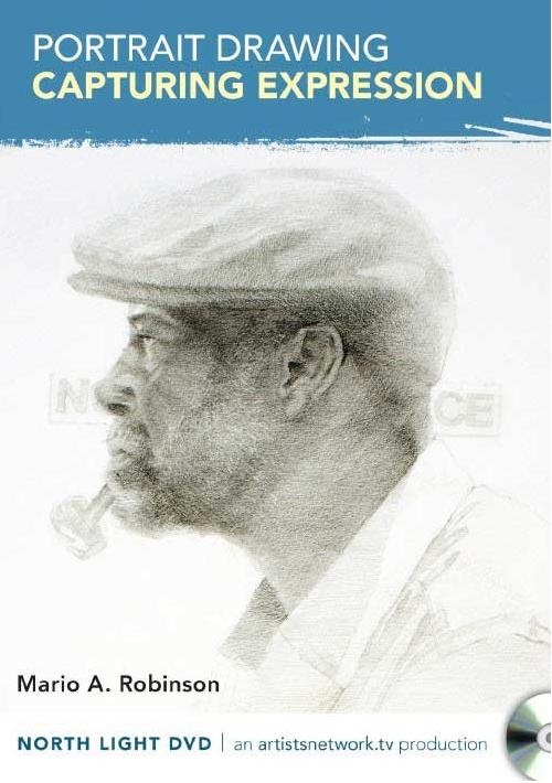 portrait drawing iwth mario robinson