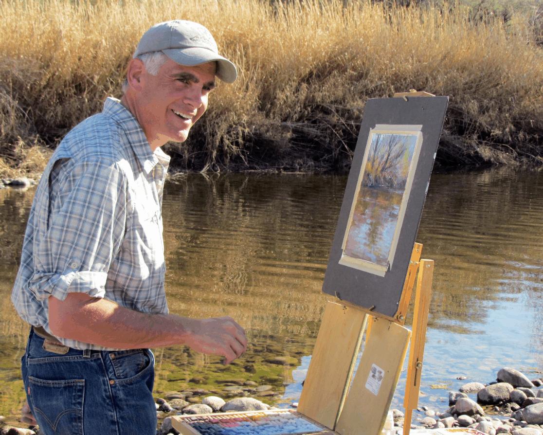 Richard McKinley plein air painting
