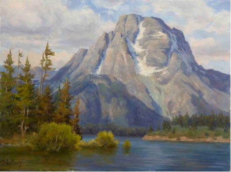 Landscape painting tips (for painting water scenes) at ArtistsNetwork.com