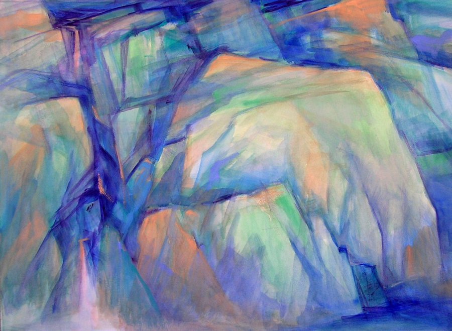 Cubic Waterfall by Freda Lee McCann