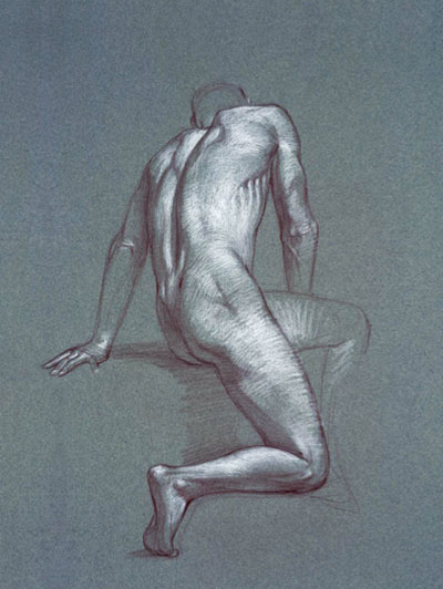 Figure drawing lessons, art by Dan Gheno | ArtistsNetwork.com