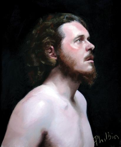 John (pastel) by John Philbin Dolan   portrait