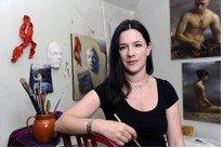 Juliette Aristides, artist and author.