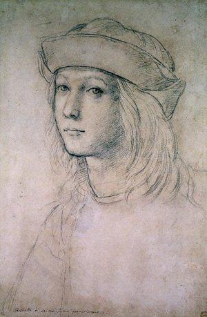 Self-portrait by Raphael, c. 1495.