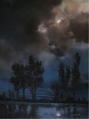 A pastel painting by Marie-Elise Larene.