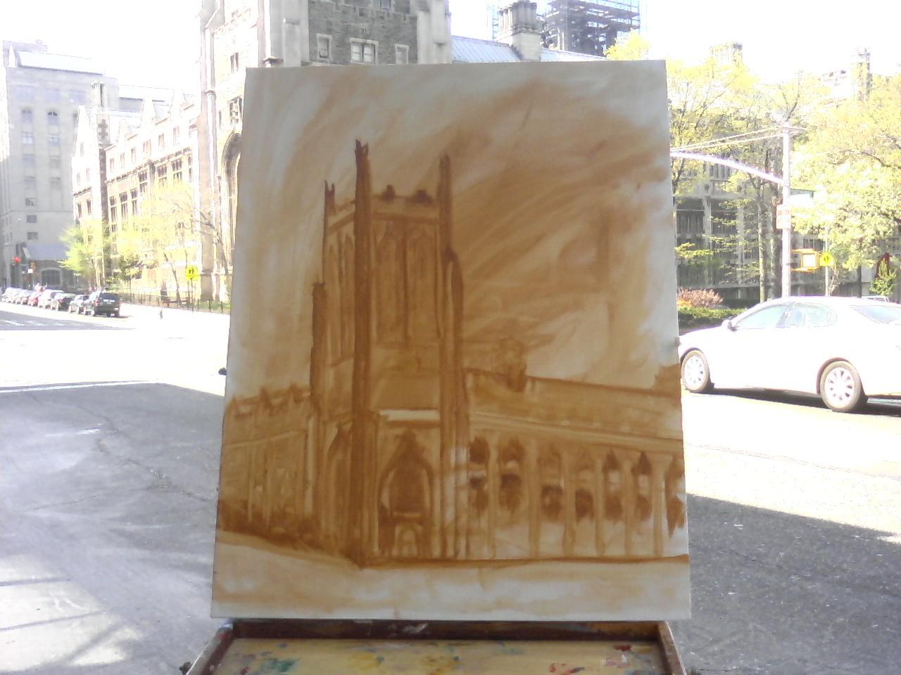 Bob Bahr drawing
