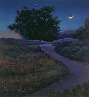 Nocturne painting palette