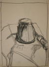 Sigmund Abeles' student drawing--Turpentine Pot