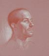 Drawing of Daniel (detail) by Dan Gheno
