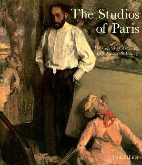 Cover of The Studios of Paris, art book