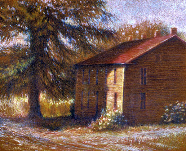 Drawings For Colored Pencil Landscape Drawings Www Drawingswe Com