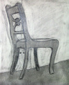 negative-space chair drawing #3
