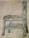 negative-space chair drawing #4
