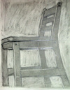 negative-space chair drawing #5