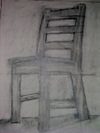 negative-space chair drawing #1