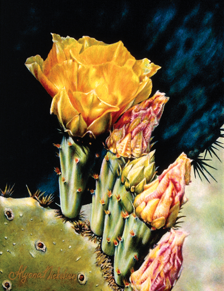 Discover the best colored pencils for artists. Desert Rose by Alyona Nickelsen, 2006, colored pencil, 10½ x 8.