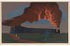 Mountain Monster by Bernard Joseph Steffen, screenprint drawing