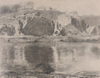 The Quarry ca. 1917, charcoal drawing by Daniel Garber