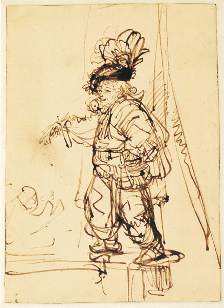 Famous Line Drawing Artists Names : Understand the genius of rembrandt with these drawing