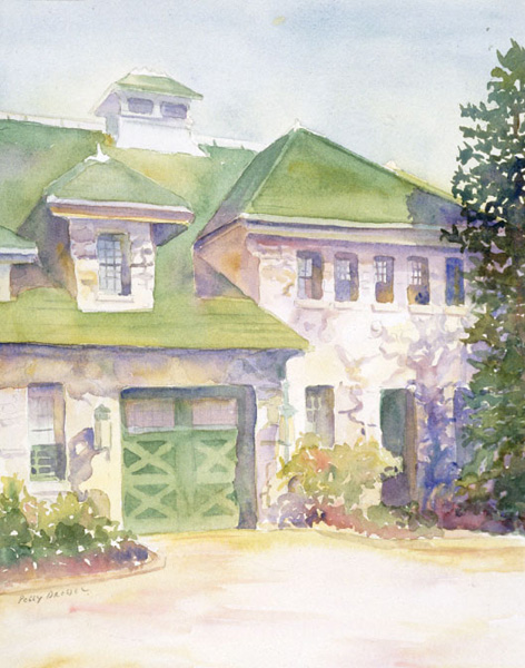 Watercolor painting by Peggy Dressel.Beginner watercolor art tutorial on paints brought to you by Artists Network