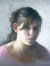 Maddie by Ephraim Rubenstein, pastel drawing