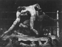 A Stag at Sharkeys by George Bellows
