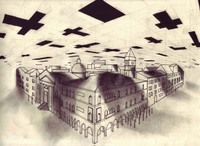 July 8, 2007, Invaded City by Victor Timofeev, drawing