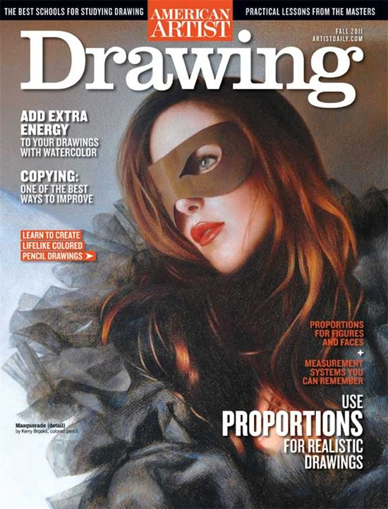 Drawing magazine, Fall 2011 cover
