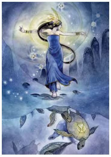 From Dreamscapes: Myth & Magic by Stephanie Pui-Mon Law.