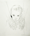 Graphite drawing by Henry Casselli, Katrina's Left Behind, No. 1