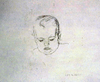Graphite drawing by Henry Casselli, Marin, Six Months
