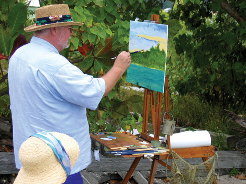 plein air painting equipment artists network