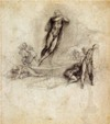 Michelangelo The Resurrection of Christ drawing