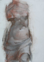 Venus by Joseph Lozano, 2007, pastel drawing