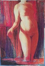 Student Drawing by Cheryl Smith, 2008, pastel drawing